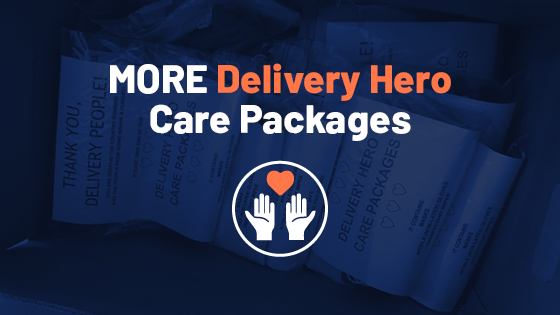 MORE Delivery Hero Care Packages