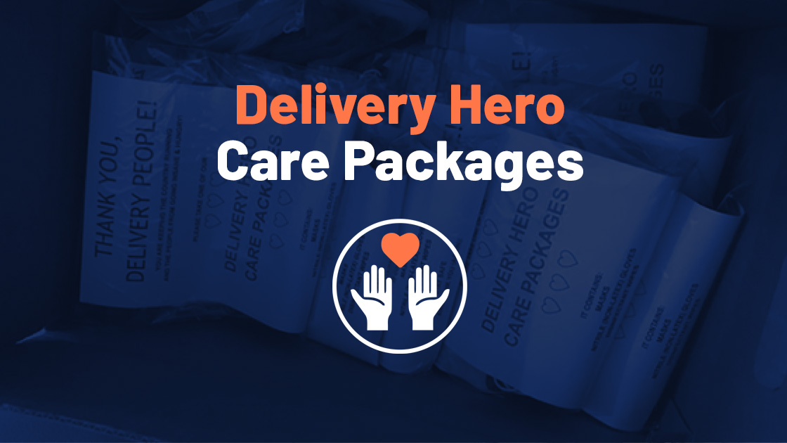 Delivery Hero Care Packages