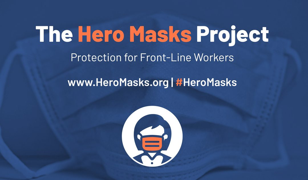 Baltimore Entrepreneurs Launch Hero Masks to Help Supply PPE to Front Line Workers in COVID-19 Pandemic