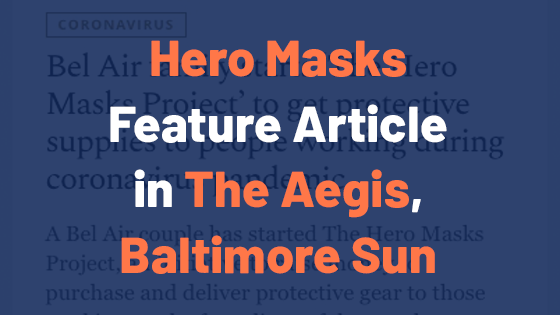 Press Coverage in The Aegis, Baltimore Sun